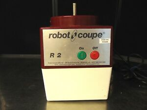 Robot Coupe R2 Commercial Food Processor Base Only Rh529