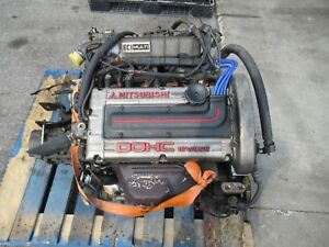 88 92 Mitsubishi Mirage Dodge Colt 1 6l Dohc Turbo Engine Jdm 4g61