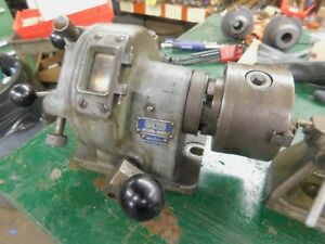 Walter Htr100 4th Axis Indexer 4 5 3 Jaw Chuck And Center