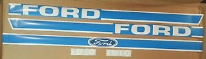 Ford New Holland Compact Tractor 1910 Hood Decal Set