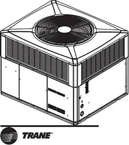 Trane 4tcc3036a3000b 3 Ton Roof Commercial Gas Heat Air New In Box