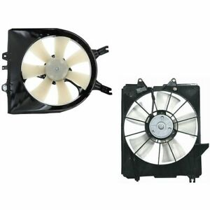 Radiator And Ac Condenser Cooling Fan Kit Left Right Pair For 05 10 Odyssey Van