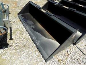 Tomahawk 84 Smooth Bucket For Skid Steer Loaders New unused Quick Attach