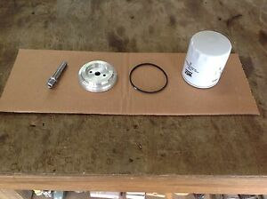 New Spin on Oil Filter Adapter Kit Fits Farmall A B C H M 200 300 400 Models