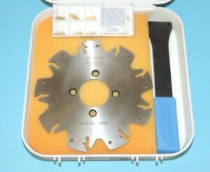 New Seco 5 Indexable Slot Milling Cutter Disc W Inserts r335 10 05 00 2