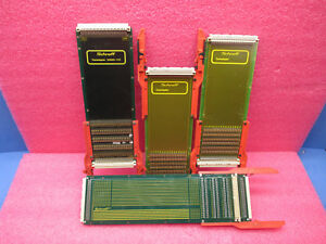 4pc Lot Schroff Test Adapters Misc Models 20800 184 20800 145 23021 653