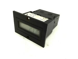 Ivo Industries N103 030e Counter Voltage 24vdc 8 Digits Input Frequency 25hz