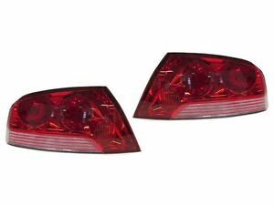 Depo Jdm Evo 7 Oe Style Red Clear Tail Light For 03 06 Mitsubishi Lancer Evo 8 9