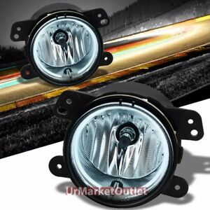 Clear Lens Oe Bumper Ccfl Halo Ring Fog Light Lamp bulb For 05 Chrysler dodge