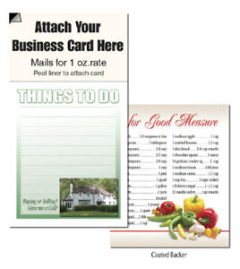 Things To Do Magnets Business Cards Garden House Realtors Notepads Note Pads