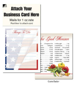 American Us Flag Things To Do Magnetic Business Card Notepads Scratch Note Pads