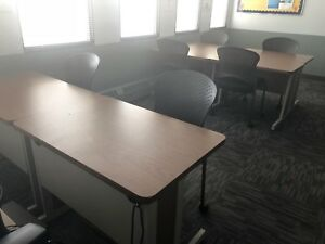 Classroom training Room Computer Table By Bevis 24 x36