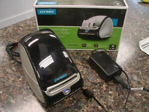 Dymo Labelwriter 450 Turbo Usb Thermal Label Printer 1750283 W power Supply Box