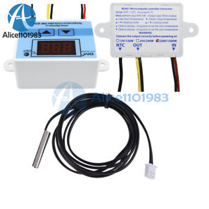 Dm w3001 Digital Control Temperature Thermostat Switch Probe 220v 10a Cable