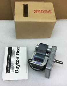 Dayton Model 3m096 Ac Gear Motor 120v 0 5a 7 Rpm Hgm 4007 1 New In Box