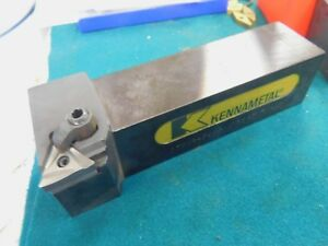 Kennametal 1 1 2 Shank Lathe Turning Tool Insert Holder Dtgnr 244d