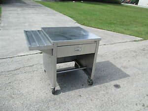 Portable Food Buffet Deli Counter 30 Stainless Steel Top 10 Side Tray