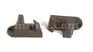 Fiat 500 Giardiniera Bianchina Rear Seat Rubber Stop Set New