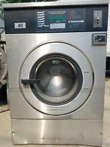 Ipso We181c Washer 40lb Coin 220v 3ph Mint Condition