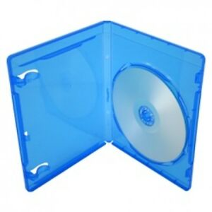 100 Premium Standard Blu ray Single Dvd Cases 12mm