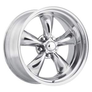 Set 4 17x8 08 5x120 American Racing 515 Polished Wheels rims 17 inch 78268