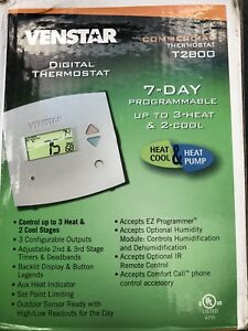 new Venstar T2800 Commercial Thermostat