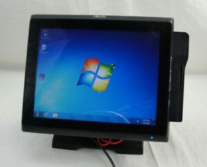 Touch Dynamic Pulse J1900 All In One Touch Screen Pos System Restaurant W reader