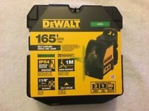 New Dewalt Dw088cg Self Leveling Cross Line Laser Level 165 Range Kit 2667350