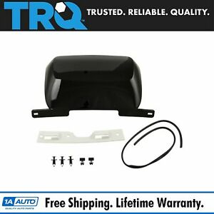 Trailer Hitch Bumper Cover Panel Black For Chevy Gmc Suv Truck New