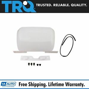 Trailer Hitch Bumper Cover Panel White For Chevy Gmc Suv Truck New