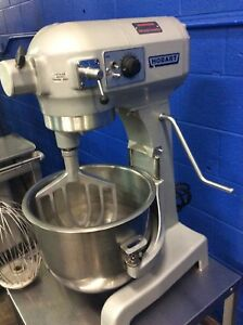 Hobart A 200t 20 Quart Commercial Mixer On Stand With Whip Paddle And Bowl