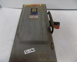 Square D 30amp 3 Phase 600vac Safety Switch