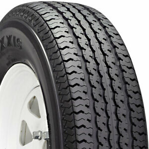4 New 225 75 15 Maxxis M8008 St Radial Trailer 75r R15 Tires 46119