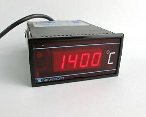 Newport 267b kc1 Temperature Panel Meter Pyrometer Indicator Thermocouple 6w