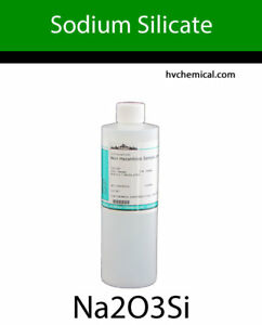 Sodium Silicate 40 Be Technical Grade Type N By The Pint Quart Gallon Drum