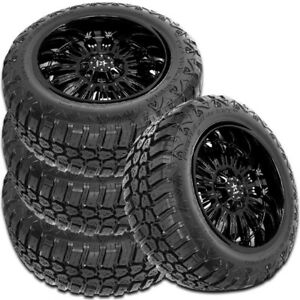 4 New Rbp Repulsor M t Rx 285 65r18 125 122q M t All Terrain Mud Tires