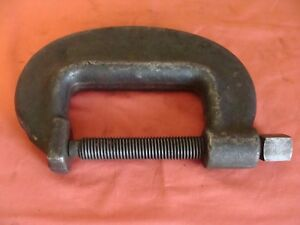 Unknown Mfg No 6 Heavy Duty Service Clamp 0 To 6 1 8