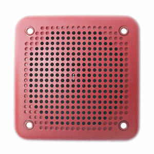 System Sensor Sp201r Spectralert Audible Speaker Wall mound 24v Red