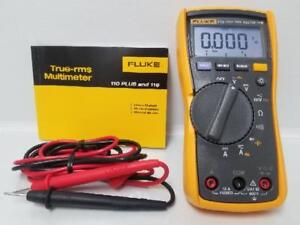 Fluke 115 True Rms Compact Digital Multimeter W Leads Manual lp2073420