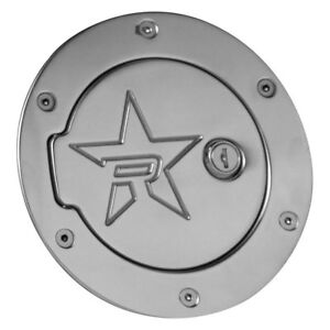 For Jeep Wrangler 07 17 Rbp Rx 2 Series Locking Polished Gas Cap Cover
