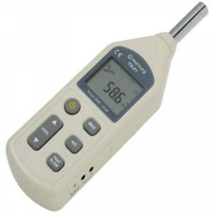 Professional Sound Level Meter Digital Decibel Reader 0 1db Steps 30 130db