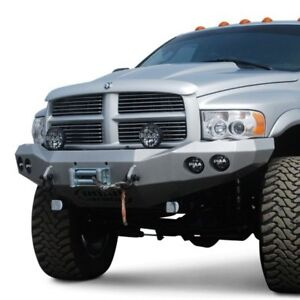 For Dodge Ram 2500 03 05 Stealth Series Full Width Black Front Winch Hd Bumper