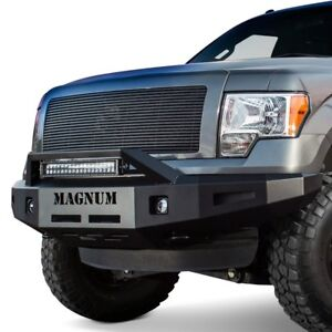 For Ford F 150 10 14 Bumper Magnum Full Width Black Front Hd Bumper W Rt series