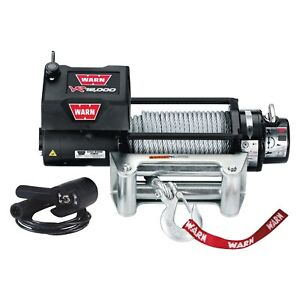 Warn 86260 Vr Entry Level Self Recovery 12000 Lbs Electric Winch W Wire Rope