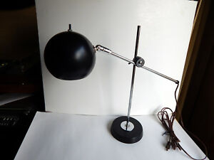 Vintage Desk Eyeball Lamp Mid Century Modern Atomic 1960s