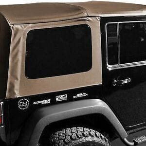 For Jeep Wrangler 1988 1995 Rampage 99417 Spice Soft Top W Door Skins