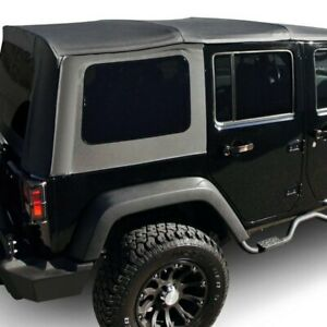 For Jeep Wrangler 2007 2009 Rampage 99935 Black Diamond Factory Soft Top