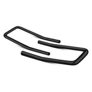 For Chevy Silverado 1500 14 17 Mile Marker Extreme Ii Black Brush Guards