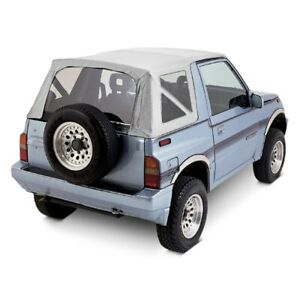 For Geo Tracker 1989 1994 Rampage 98752 White Denim Factory Soft Top