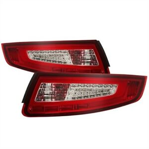 Spyder Auto 9038631 Led Tail Lights 2005 2008 Porsche 911 997 Pair Red Clear
